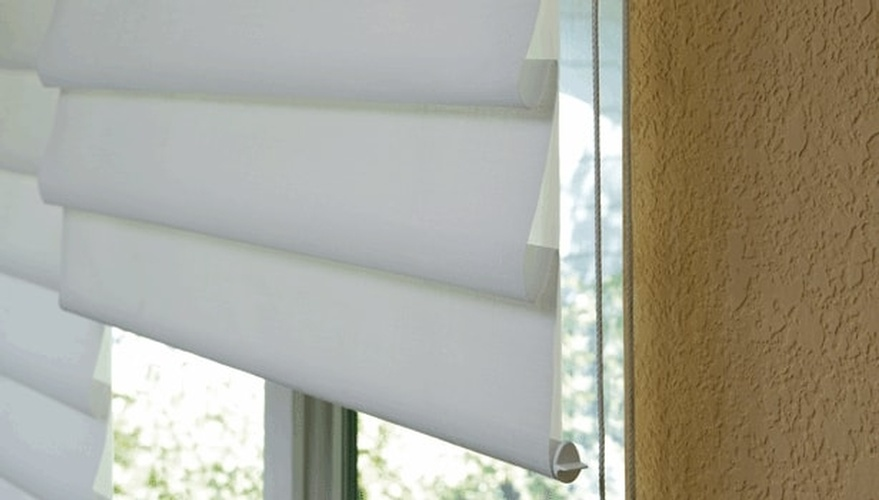 Modern Roman Shades for Windows by Sensational Seams