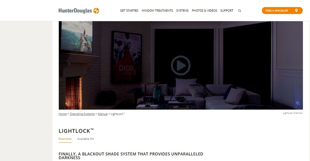 Complete Blackout Shade System   LightLock™   Hunter Douglas.jpg