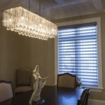 Modern Chandelier by Sensational Seams