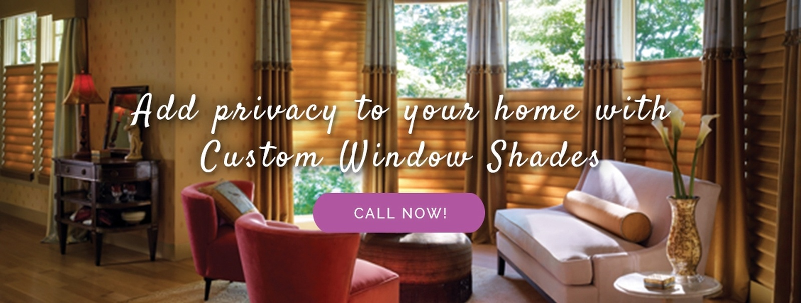 Add Privacy to your Home with Custom Window Shades - Sensational Seams