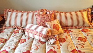 Custom bedding Orono by Sensational Seams