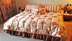 Custom bedding Kendal by Sensational Seams