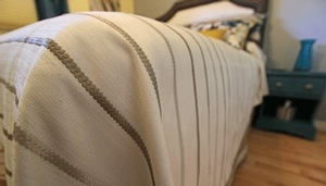 Custom bedding Blackstock by Sensational Seams
