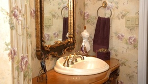 Washbasin near Mirror - Bathroom Interior Design by Sensational Seams