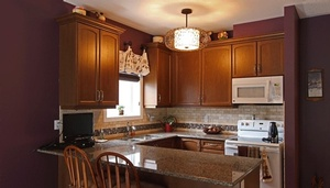Custom Kitchen Interior Design Bowmanville by Sensational Seams