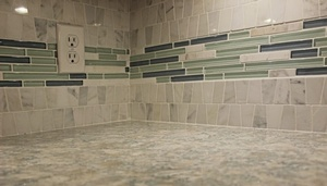 Kitchen Backsplash Tiles by Sensational Seams
