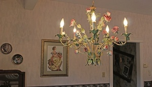 Floral Chandelier -  Lighting Selection by Sensational Seams