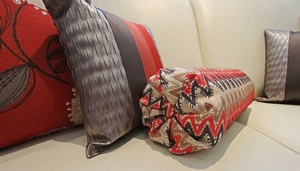 Decorative Pillows and Bolster by Sensational Seams
