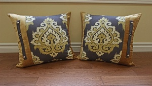 Multicolor Decorative Throw Pillows by Sensational Seams