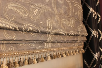 Window Trims Tassels and Banding - Sensational Seams