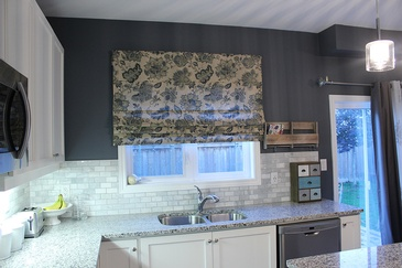 Kitchen Window Treatment Newcastle by Sensational Seams - Room of the Month – January 2019
