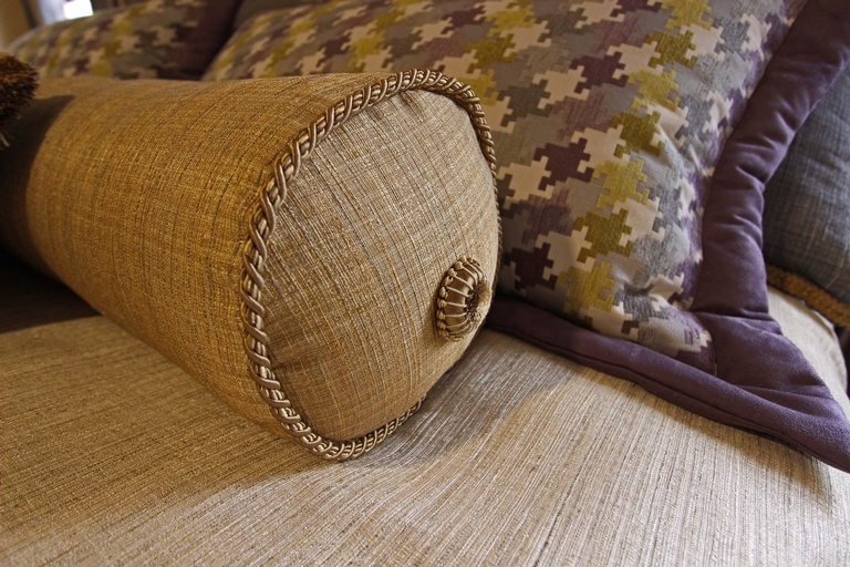 Decorative Bolster Pillow at Sensational Seams